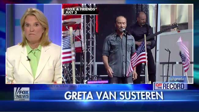 Fox's Greta Van Susteren Wants Ariana Grande To Sing 'God Bless The USA' To Prove She's Patriotic