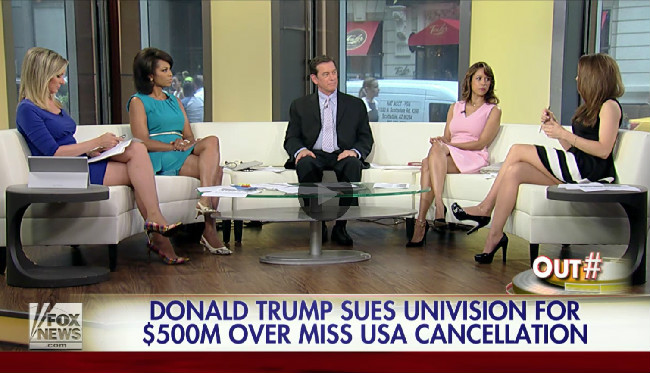 Fox News' Uninhibited Donald Trump Lovefest Continues Unabated On 'Outnumbered'