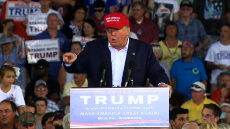 """White Power!"" Apparently, Donald Trump Held A White Supremacy Rally In Alabama Friday Night"