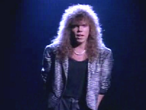 Contemptor's Late-Night Crappy '80s Hair Metal Video: Carrie By Europe