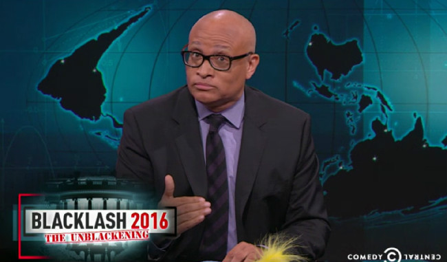 "Larry Wilmore Scolds Donald Trump Supporters: ""Stop It. Stop It. America, Listen To Me. Stop It."""