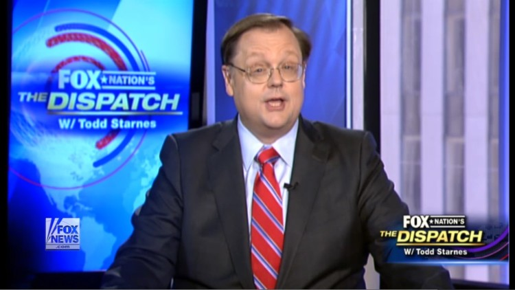 "Fox's Todd Starnes Says Progressives Are Just Like ISIS When It Comes To ""Cultural Cleansing"""