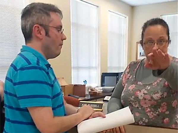 Bigots, Read Your Bible! Kentucky Clerk Demonstrates She Doesn't Even Understand Her Own Religion