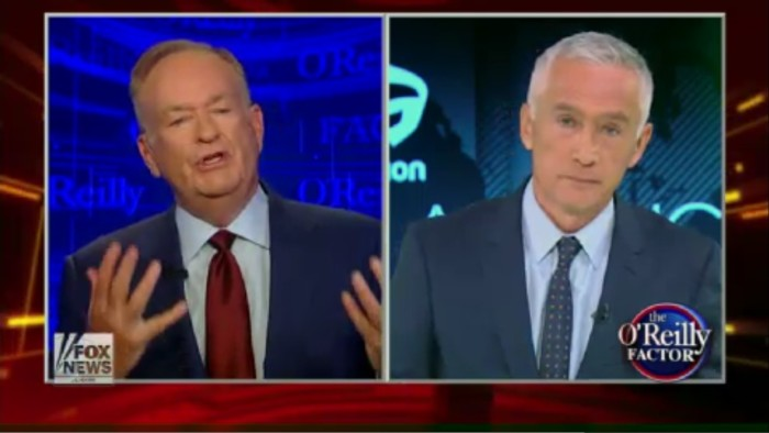 Jorge Ramos To Bill O'Reilly: You Are The Wrong Person To Lecture Me On Journalism