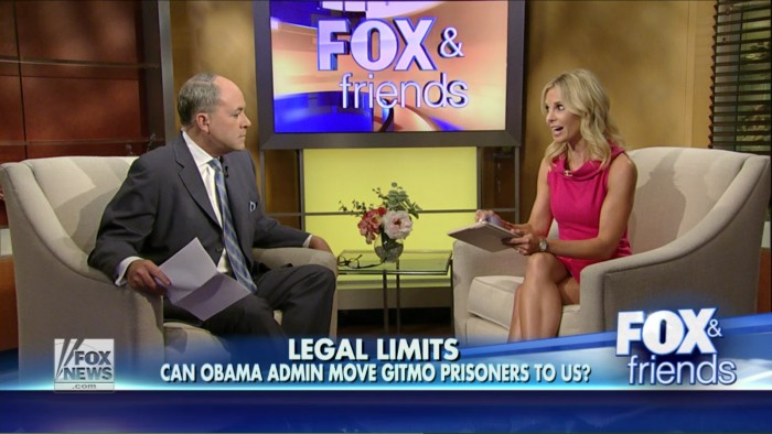 Fox News' Elisabeth Hasselbeck: Obama Is Planning To Send Terrorists Into Your Hometown!