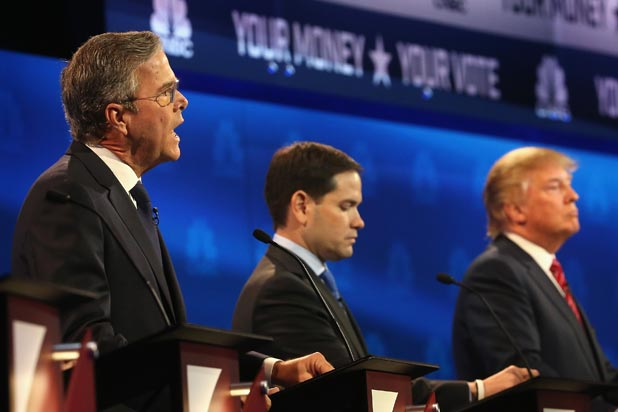 RNC Won't Let NBC Do February GOP Debate Because CNBC Didn't Give Jeb Bush Enough Airtime
