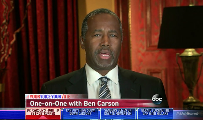 It Appears That Ben Carson Doesn't Know The Difference Between Iraq And Afghanistan