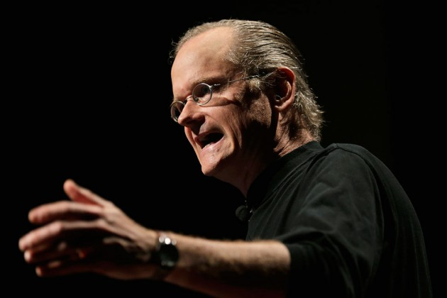 Larry Lessig Was Perhaps This Election's Most Ambitious And Populist Presidential Candidate