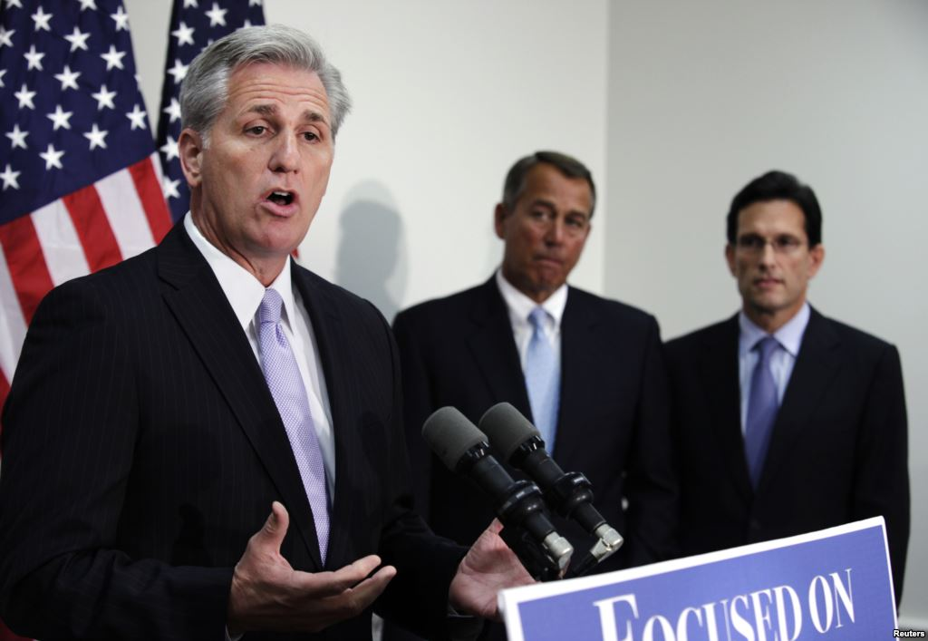 With Kevin McCarthy's Shocking Announcement, The Tea Party Guillotine Strikes Again