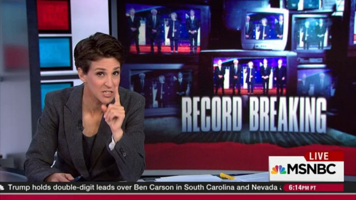 Rachel Maddow: Dem Debate Was A Success Because Candidates Weren't Attacking Each Other