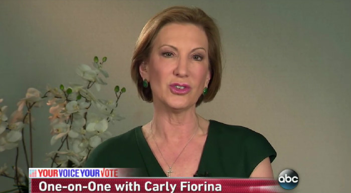 "Carly Fiorina Blames ""Liberal Media"" For Her Lies Before Admitting She ""Misspoke"" At Debate"