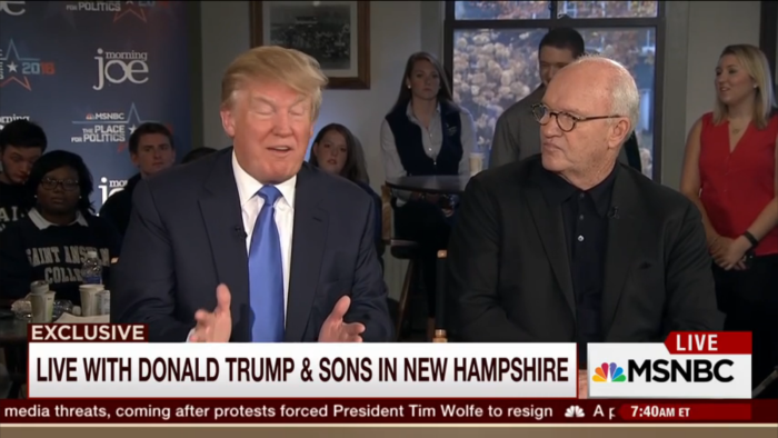 'Morning Joe' Devotes An Entire Hour Of Live Airtime To Kissing Donald Trump's Ass