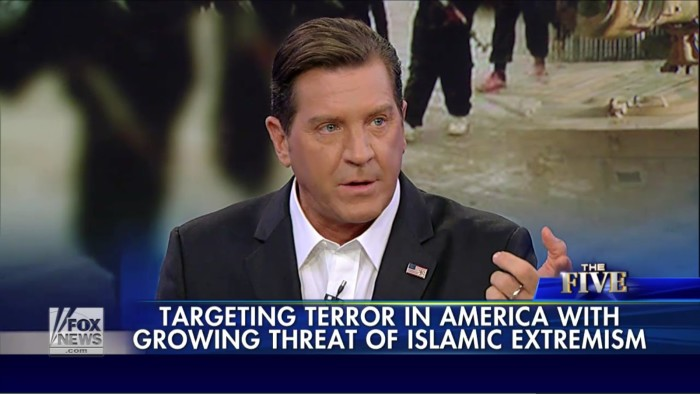 "Fox's Eric Bolling: We Need To Carpet Bomb And Level Syria, Including All The ""Dumb"" Civilians"