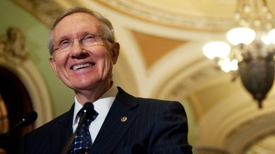 Harry Reid Trolls Joe Scarborough Over 'Morning Joe's' Pandering Koch Brothers Interview