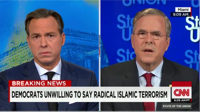 "After Ripping Hillary For Not Denouncing Islam, Jeb Is Reminded His Brother Said ""Islam Is Peace"""