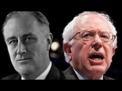 Bernie Sanders 2016 And Franklin D. Roosevelt 1936: Oh, How History Repeats Itself