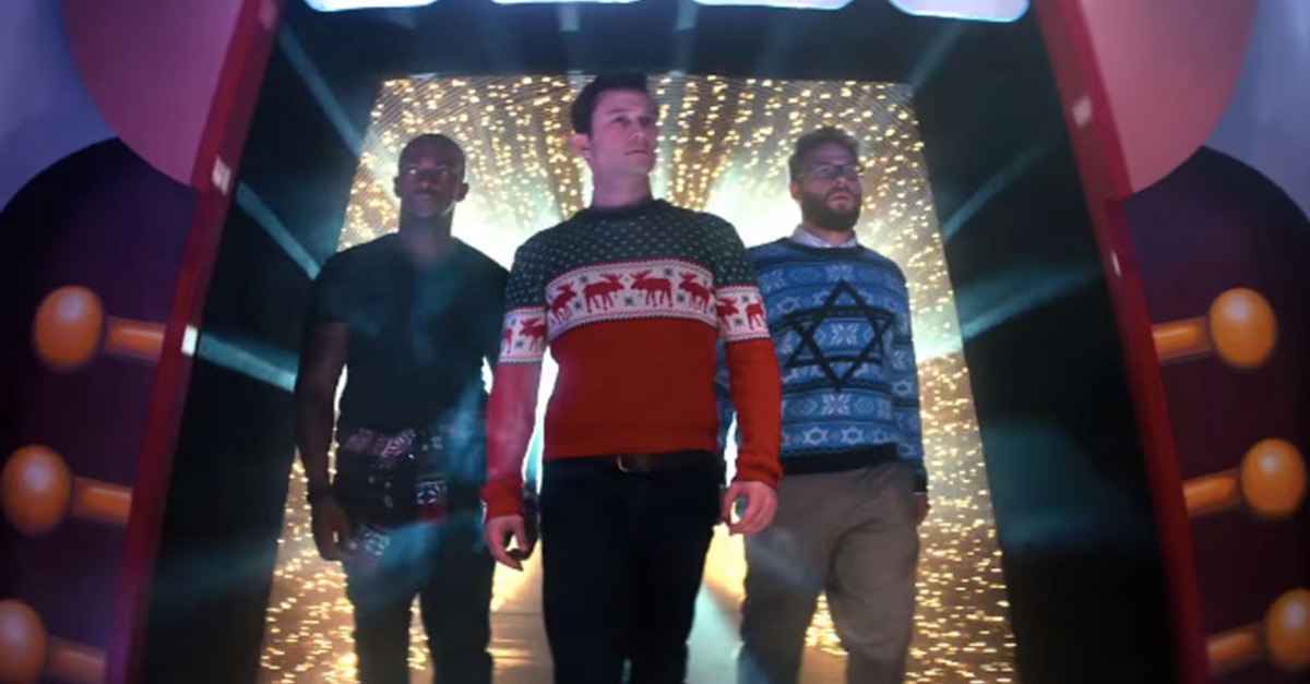Simultaneously Raunchy And Warmhearted, 'The Night Before' Is Bound To Be A Holiday Favorite