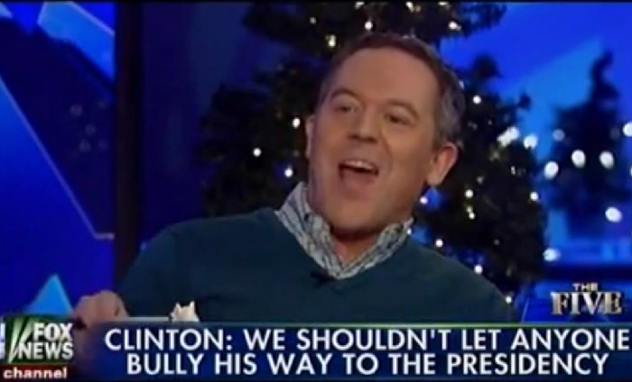 Fox's Greg Gutfeld Has No Problem With Trump's Sexist Comments About Hillary Clinton