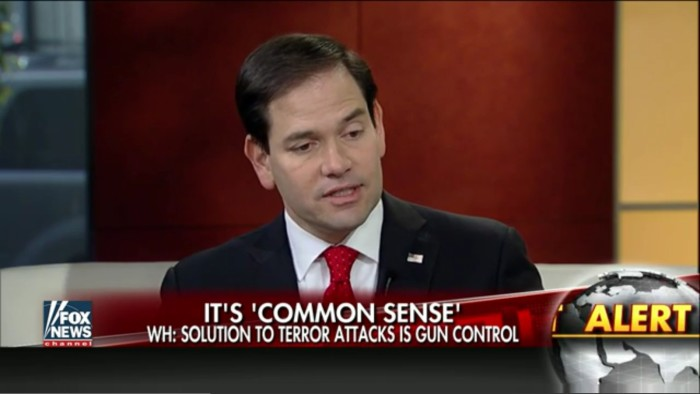 "Rubio Snarks That No One Is ""Talking About Bomb Control""…Likely Cuz Bombs Are Already Illegal"