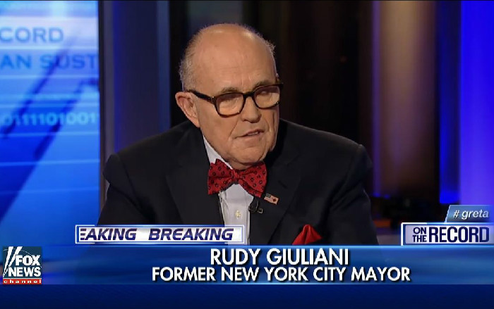 Rudy Giuliani: People Won't Inform On Terrorists Because They Don't Want To Be Called Bigots