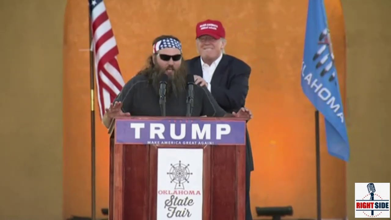 Family Feud! 'Duck Dynasty' Morons Torn Between Canadian Dude And Orange Billionaire