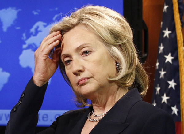 Back Against The Wall: Hillary's In Trouble And She Knows It