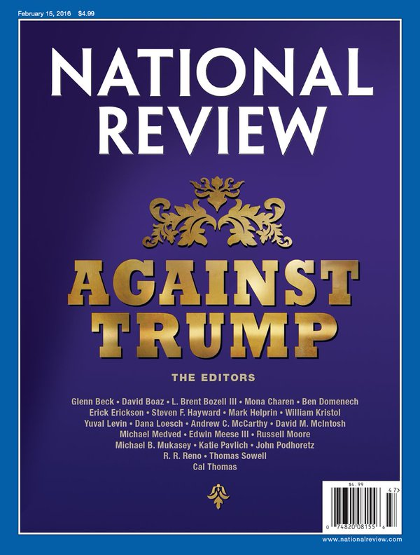 Right-Wing Magazine Desperately Tries To Rein In Monster It Helped Create