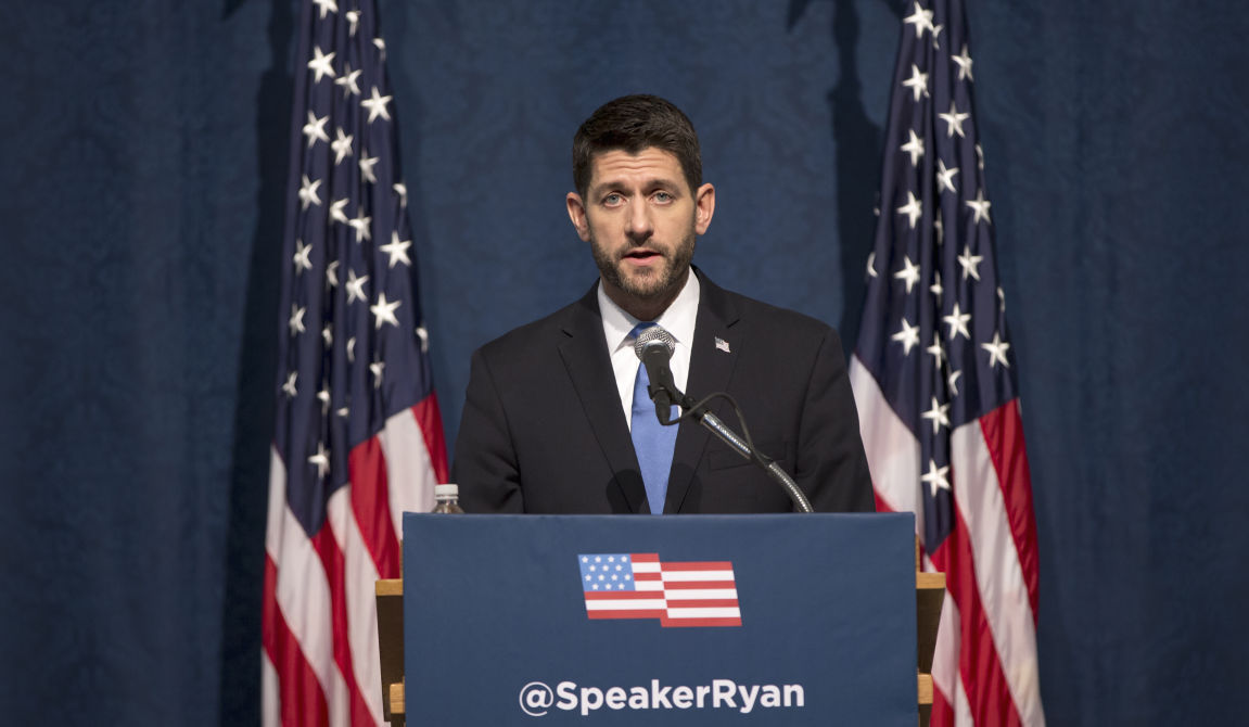 Paul Ryan: Obama's Gun Control Orders Are A Distraction From ISIS And Radical Islam