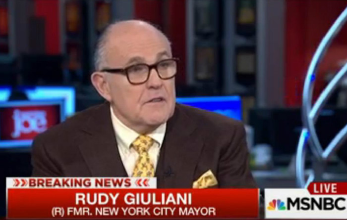 Talking Out Of His Ass, Giuliani Says U.S. Will Experience Five More Terror Attacks In 2016