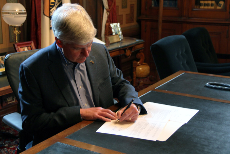 Is Governor Rick Snyder Completely Obsessed With Destroying Michigan?