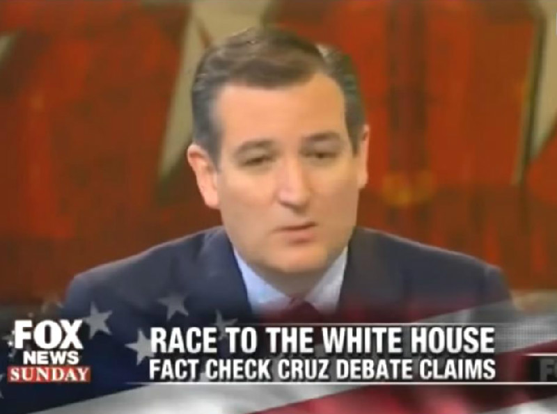 Even Fox News Won't Let Ted Cruz Get Away With His 'Job-Killing Obamacare' Lies