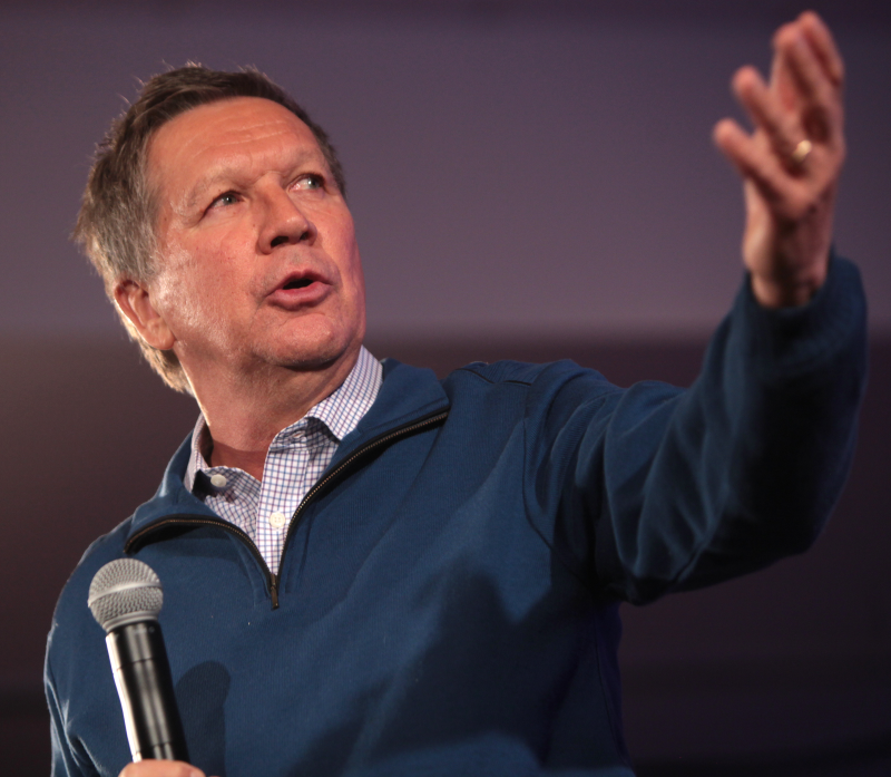 Chicken? Game Theory? Whatever. Go Kasich.