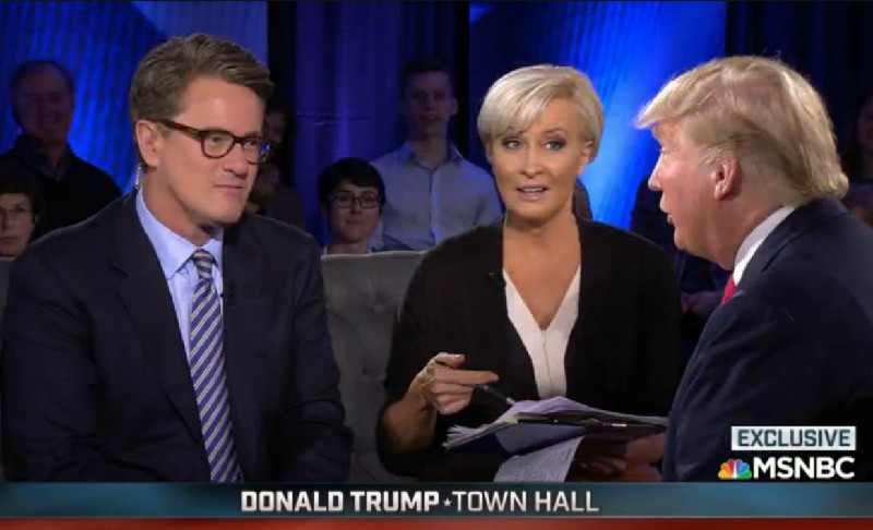 Is MSNBC Going Out Of Its Way To Create A Safe Space For Donald Trump?