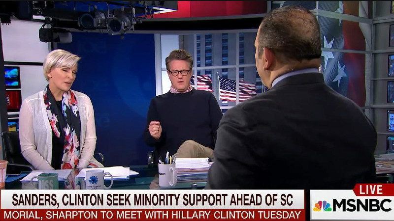 Joe Scarborough Helpfully Tells Black Dude What Black Voters Really Want