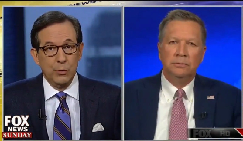Fox's Chris Wallace Berates Kasich For Not Calling Undocumented Immigrants Criminals