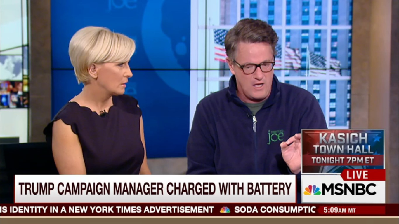 Joe Scarborough And Mika Brzezinski Browbeat HuffPost Editor For Defending Michelle Fields