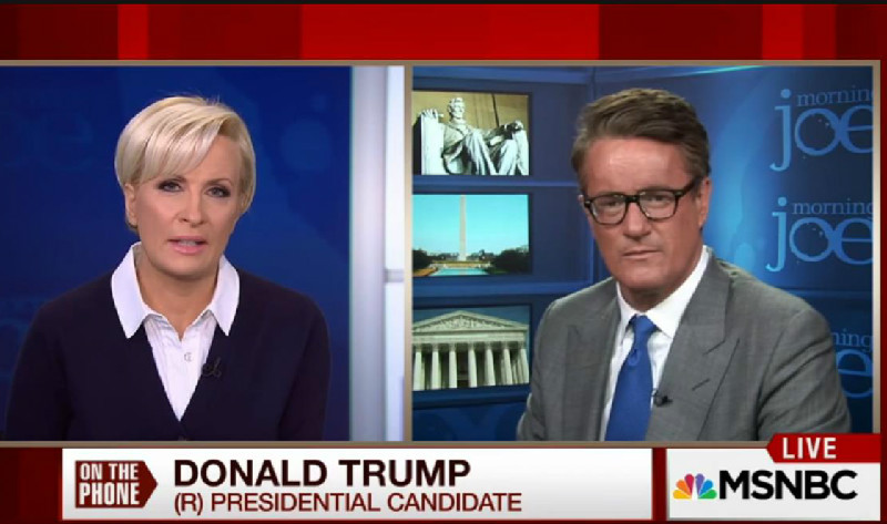 Joe Scarborough Loyally Comes To The Rescue, Defends Trump Over His Nazi Salute Flap