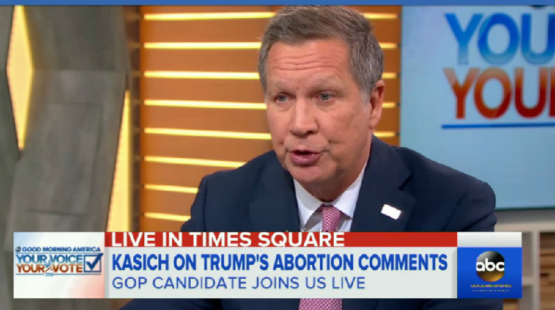 "John Kasich: Trump Should Be Happy That ""Jon Stewart's Not Running The Daily Show"""