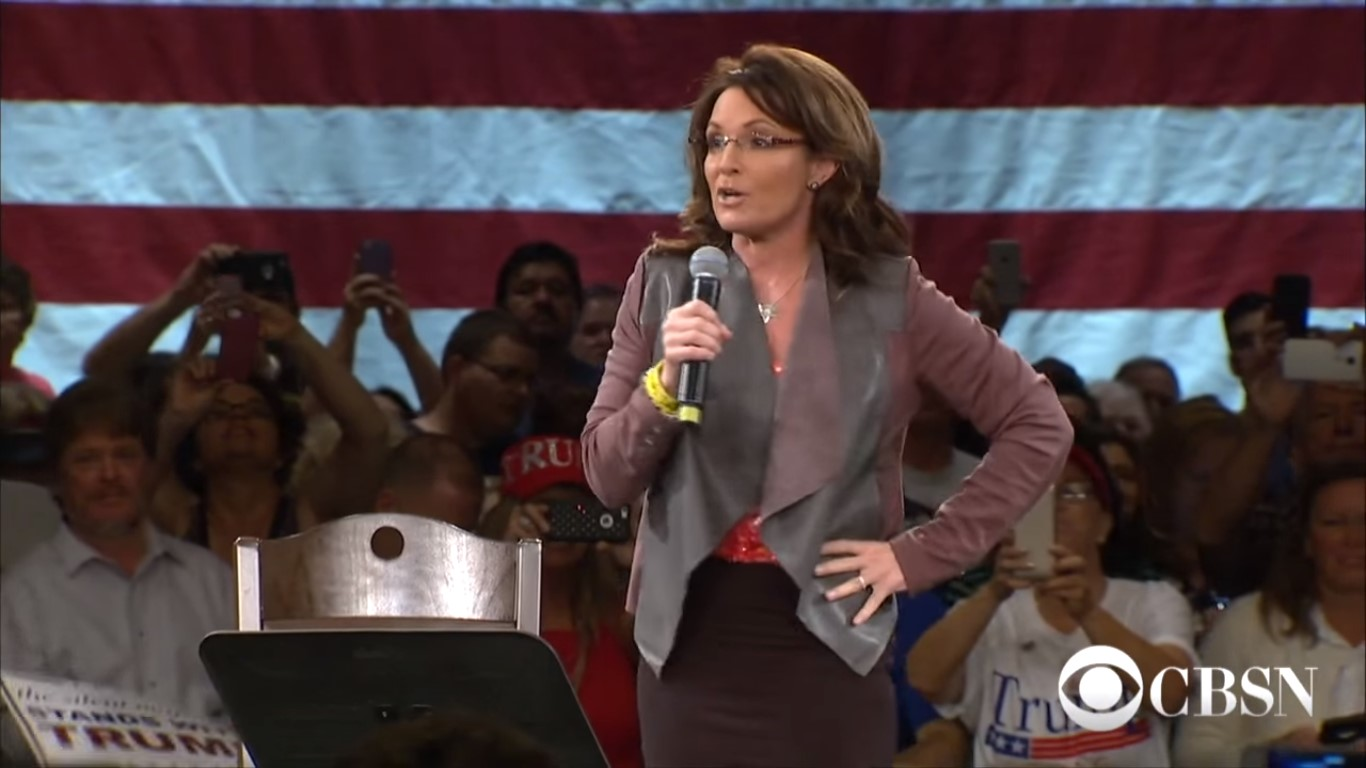 Sarah Palin's Defamation Suit Against The New York Times Will Head to Trial, Judge Rules