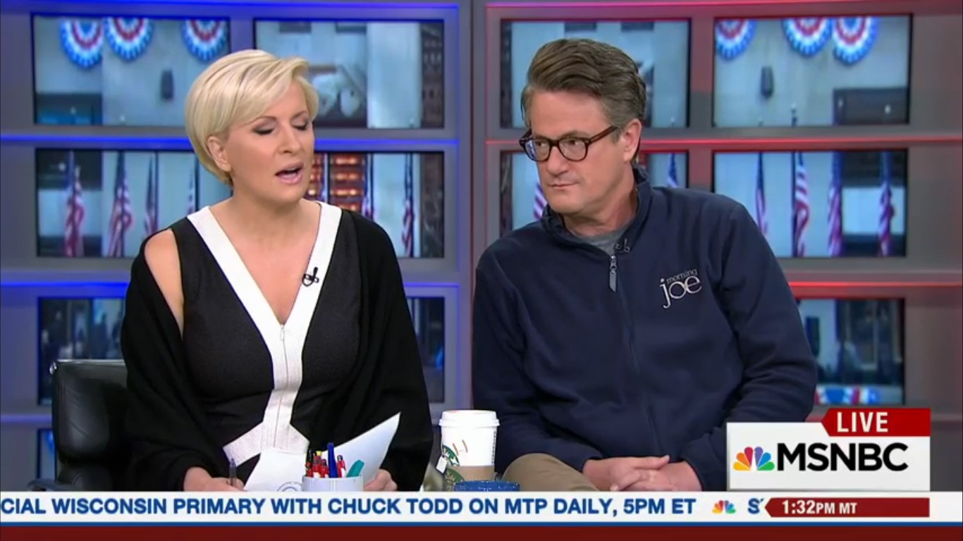 Because MSNBC Hates Us, We Got A 'Special' Edition Of 'Morning Joe' On Tuesday Afternoon