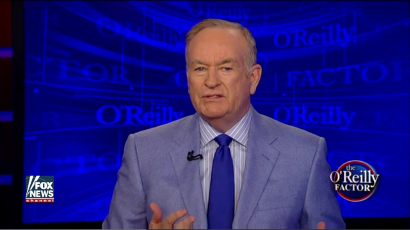 Bill O'Reilly: I'm Just Serving The Greater Good By Calling Blacks Super Predators