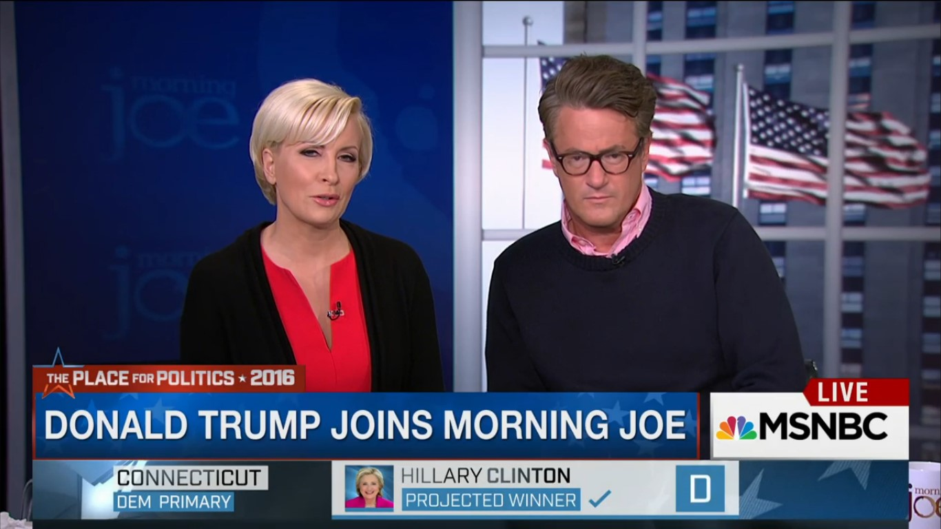 Joe Scarborough And Mika Brzezinski Can't Contain Their Giddiness Over Trump's Primary Wins
