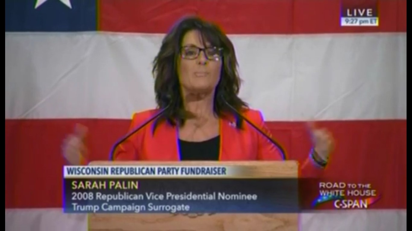 "Wait, What? Sarah Palin Says Politicians Are ""Seducing"" Immigrants With ""Teddy Bears"""