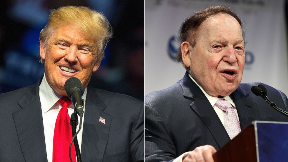 "Remember When Trump Said Sheldon Adelson Wanted To Make Marco Rubio His ""Little Puppet?"""