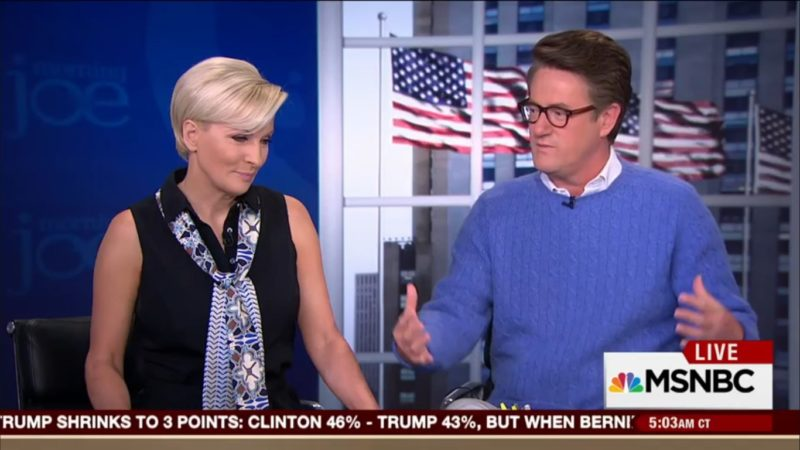 """Pot Meet Kettle: Joe Scarborough Says CNN Has Been """"Kissing Up"""" To Trump For Months"""