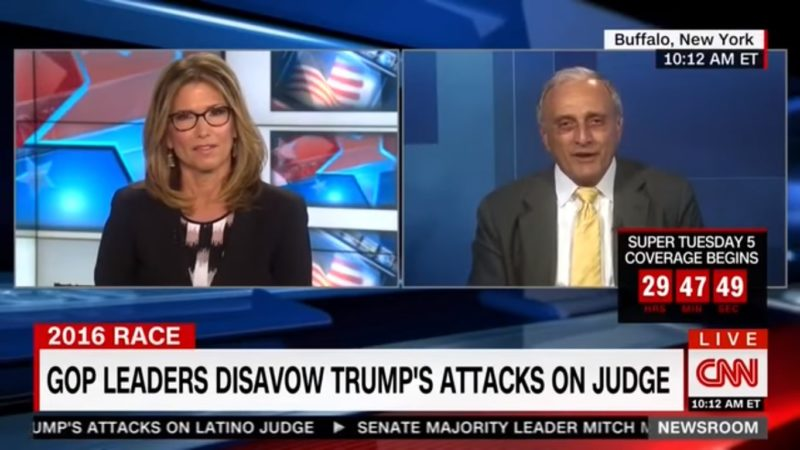 "Trump Surrogate Tells CNN To Stop Saying ""Racist"" Because It's Unfair To White Guys"
