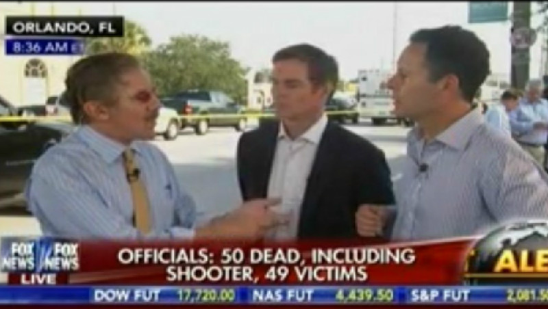 Geraldo Rivera Blames Orlando Victims For Own Deaths, Says They Should've Fought Back