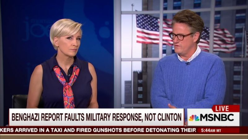 Eight Isn't Enough: Joe Scarborough Thinks Maybe We Need Another Benghazi Committee