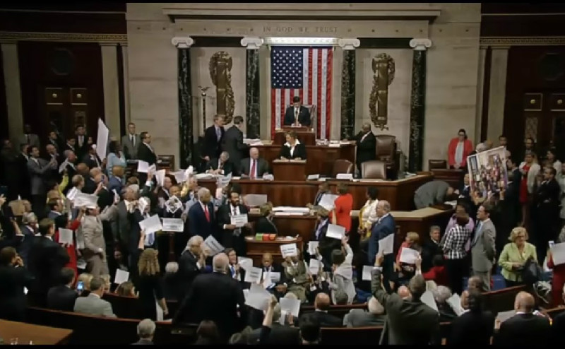 Gun Control Momentum Shift: Media Coverage, John Lewis And Republicans In Flight