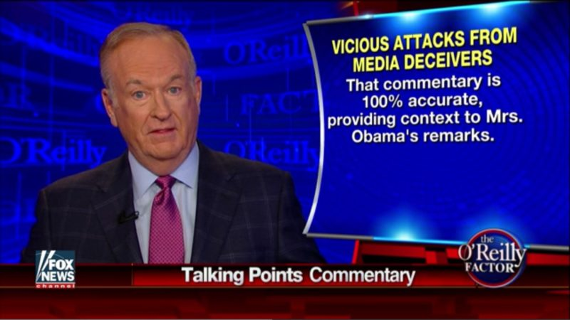 """They Want Me Dead!"": Bill O'Reilly Plays Victim After Backlash Over Slavery Comments"